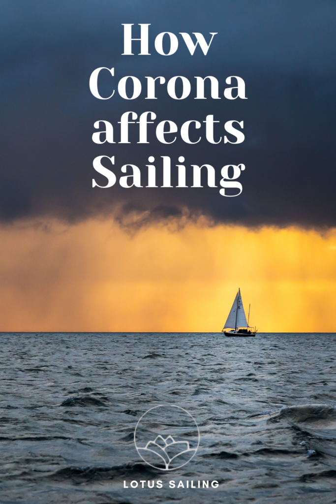 How Corona affects Sailing