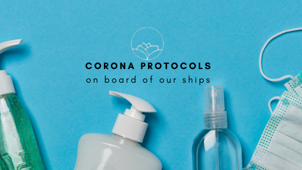 Corona protocols on our ships