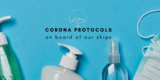 Corona protocols on our ships