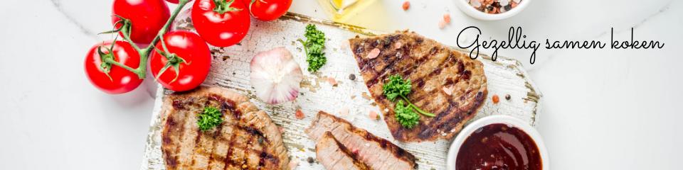 Gezellig samen koken is ook fijn als je op vakantie gaat in eigen land