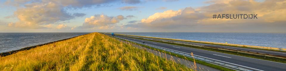 Het ontstaan van het IJsselmeer door de afsluitdijk in Nederland