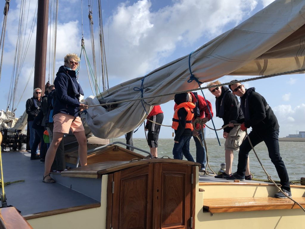 Learn to sail in the Netherlands