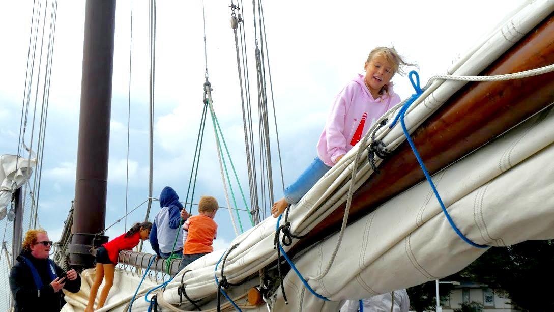 Zeilen op het IJsselmeer, familievakantie met kinderen