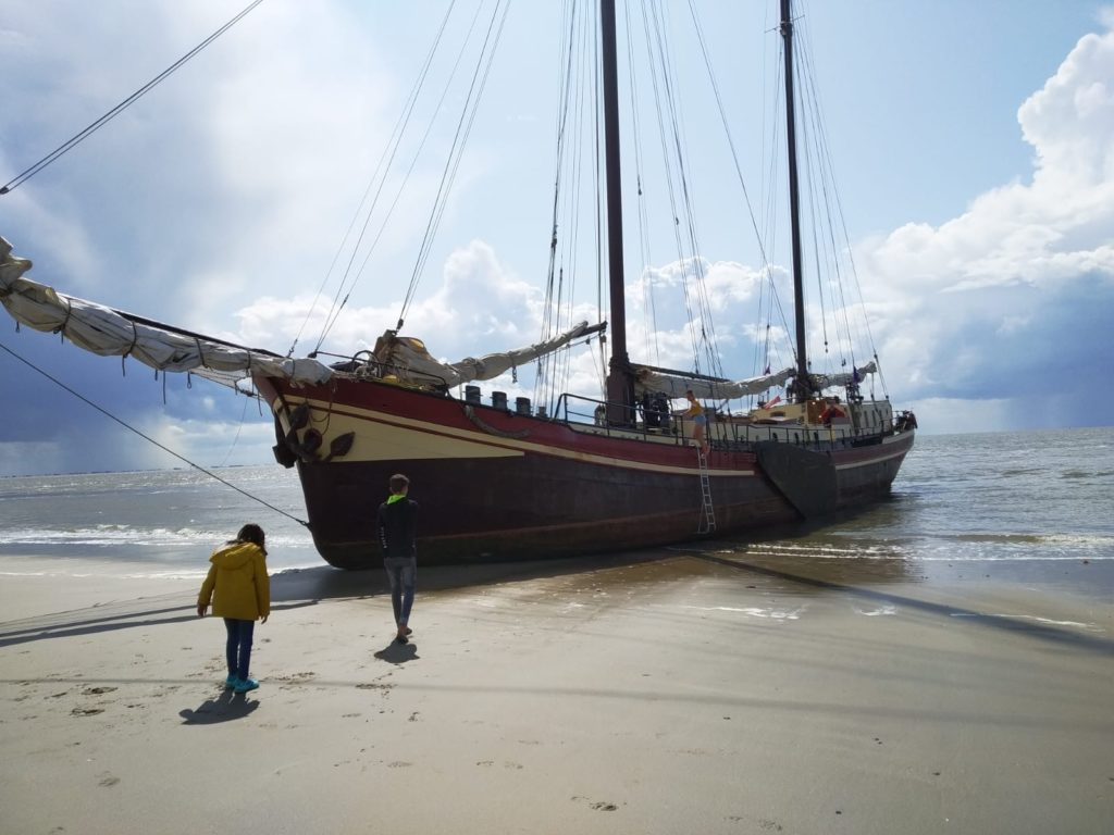 The beach of Ameland