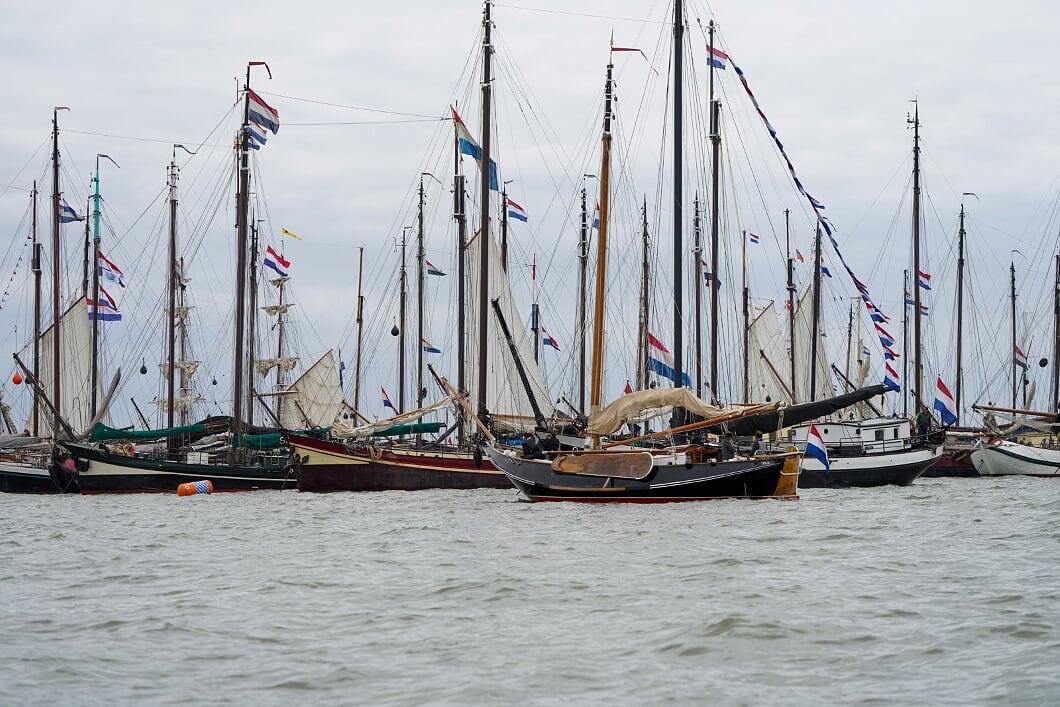 Manifestation Red die niederländische Segelflotte