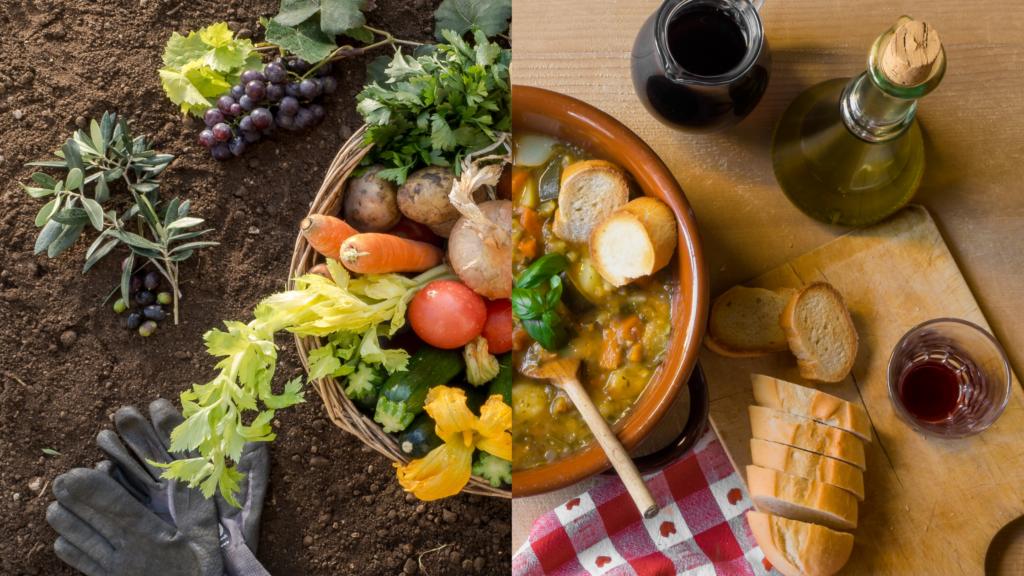 Biologische maaltijden koken op vakantie