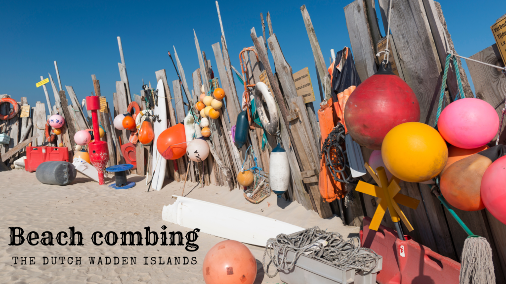 Strandjutten op de Waddeneilanden tijdens een zeilvakantie