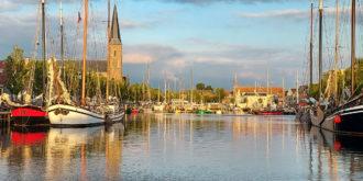 De Zuiderhaven van Harlingen