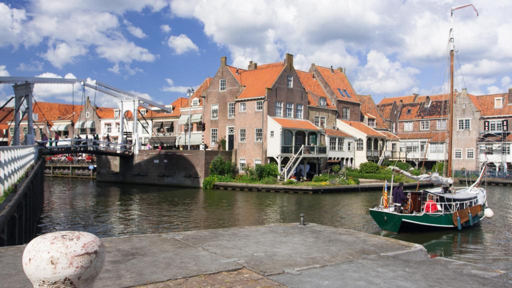 De binnenstad van Enkhuizen