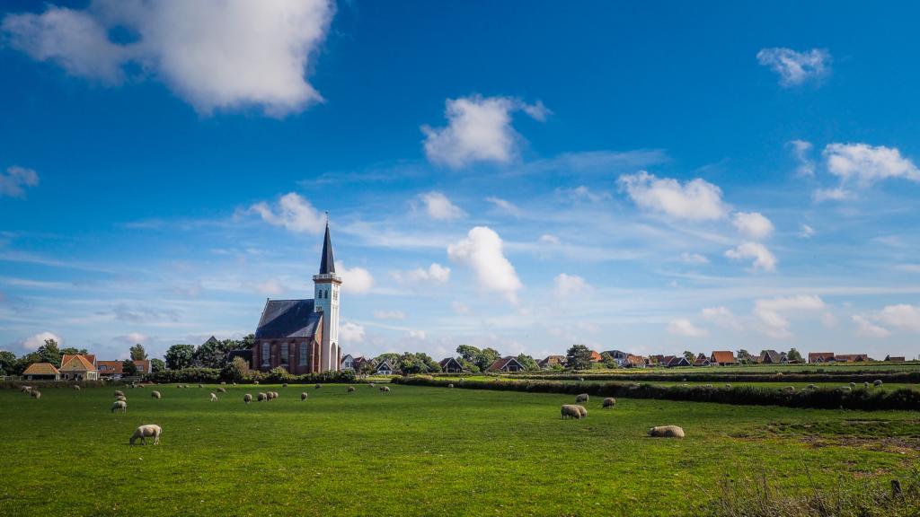 Natuurgebied Waalenburg op Texel