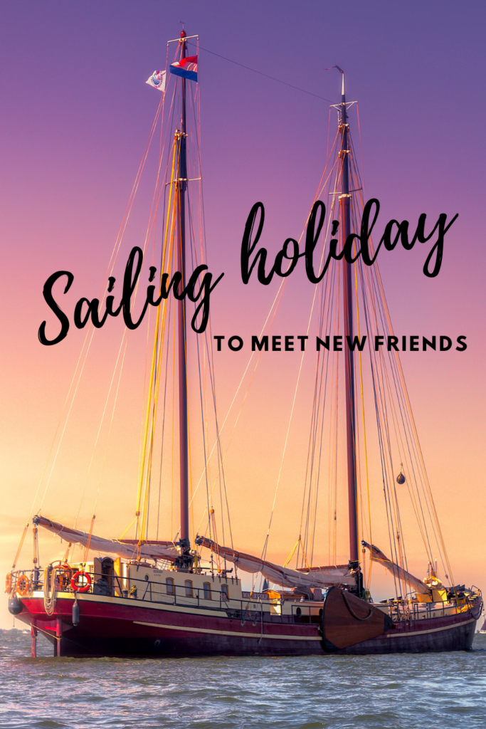 Sailing holiday to meet new people