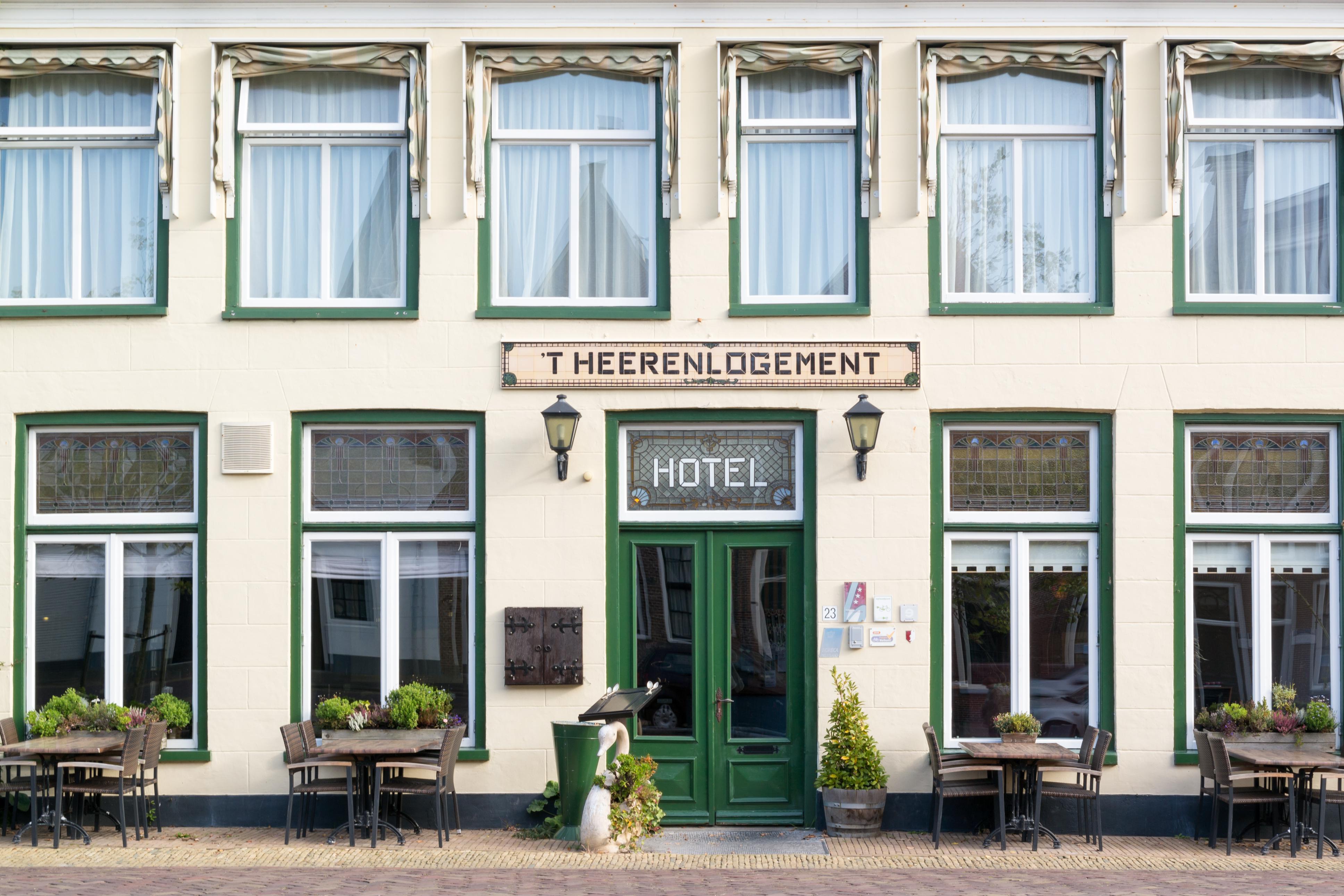 Hotel 't Heerenlogement in the centre of Harlingen