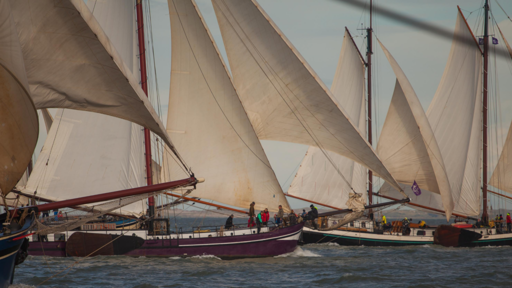 Traditional Sailingships in Harlingen