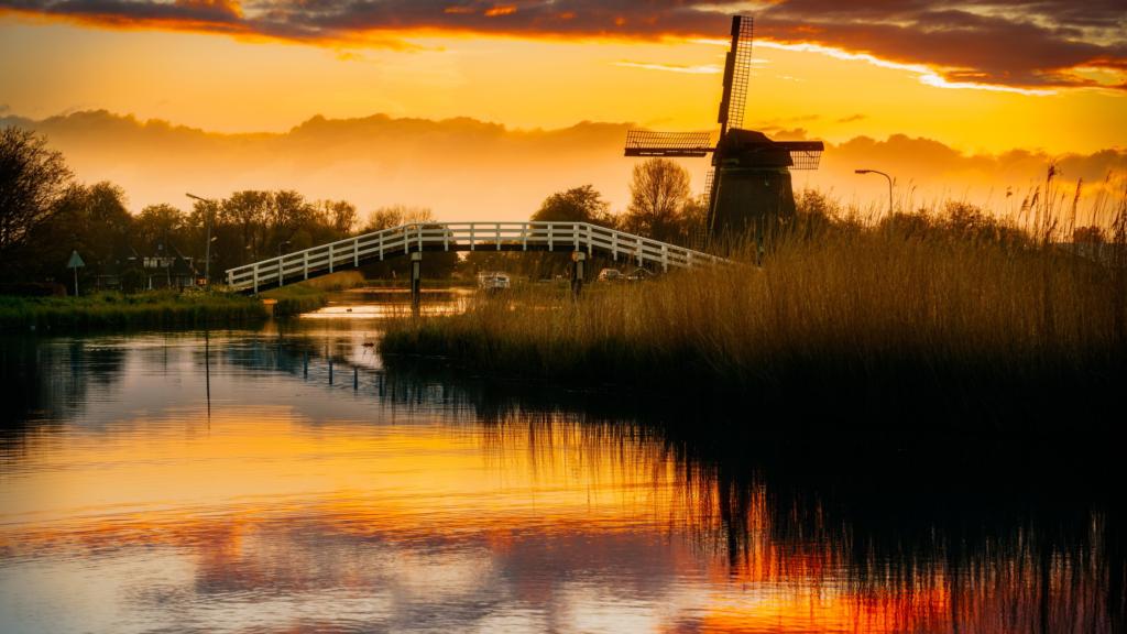 Typisch Hollands natuurgebied