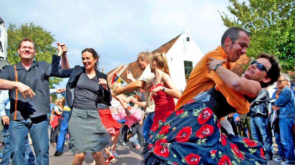 Rock ' n Roll street festival op Terschelling