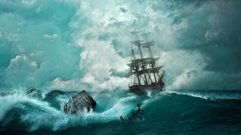 De geschiedenis van de vele scheepswrakken in de Waddenzee rondom het eiland Texel