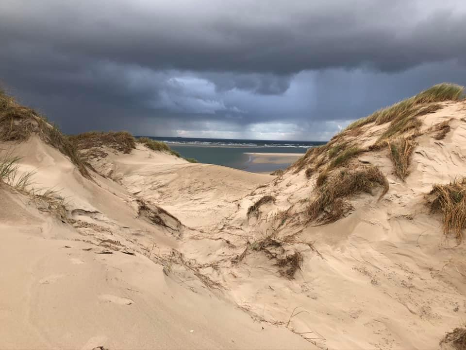 Herfst in de duinen van Terschelling