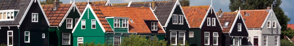 Authentic cottages on Marken