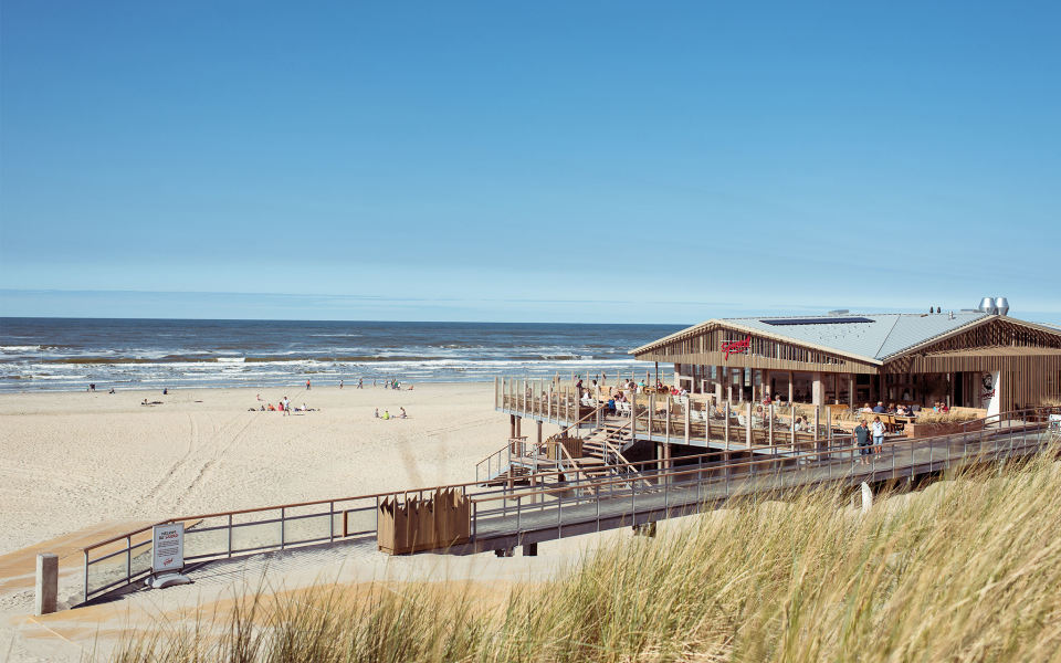 Eco strandpaviljoen Sjoerd op Ameland