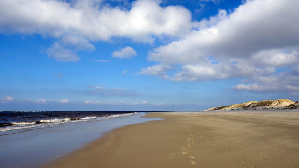 Het bijzonder authentieke strand van Tercshelling