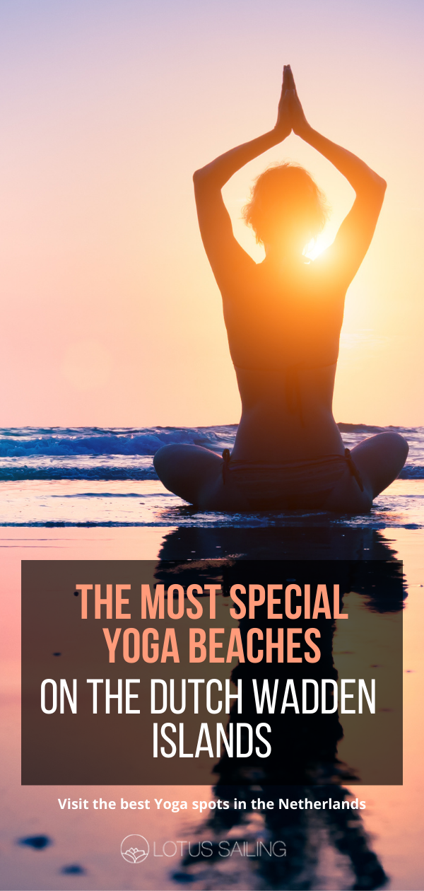 The most special yoga places on the Wadden islands
