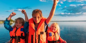 Kinder im Segelurlaub